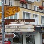Way Signs   - Silberhorn Wengen