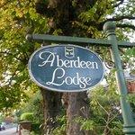 Aberdeen Lodge signage