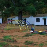 Playground and cabins