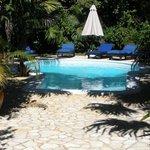 Private pool at Clandestino