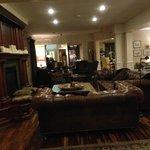 A cozy lounge