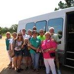 Texas Wine Tour limo van.
