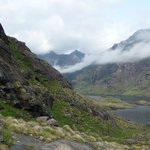 Loch Coruisk surrounded by mountains