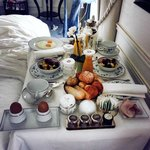 American Breakfast room service