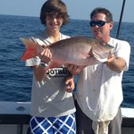 Cameron and his BIGGER Mutton Snapper