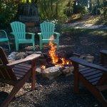 Fire pit by Joann's studio