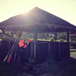 The kayak shack
