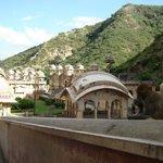 Templo del Dios Sol (o de los Monos). Galta, Jaipur.