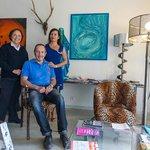Avec Michel et Romy, deux merveilleux propriétaires