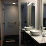 Vanity bathroom area