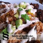 South of the Border Rice Bowl with Steak
