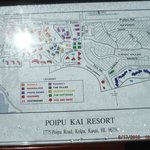 Map of PoiPu Kai Resort development