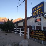 Exterior of Mt. Williamson Motel and Base Camp