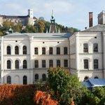 Güldener Herbst in Ljubljana