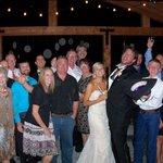 a very fun wedding!