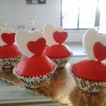 S.Valentine Cup Cakes