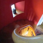 Stairway to top floor