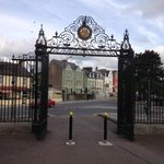View of Garnish House from UC Cork's main gates.
