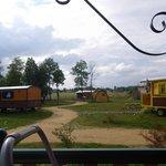 cabane de sam, roulottes et cabanon