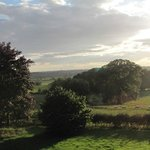 Park House, Ingleby Cross. View from our room.