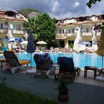 View of Pool at The Metin Hotel  (JulieJon18) Sept 2013