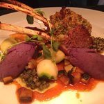 Herb crusted lamb cutlets!