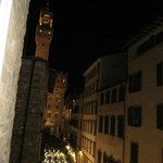 View toward Piazza della Signoria from room (SE)