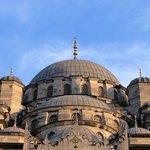 Uma das mais importantes mesquitas - parte superior.