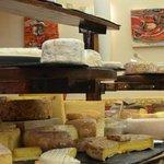 Muy buena selección de quesos