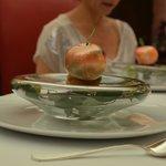 De postre: una manzana