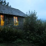Storm King Cabin overlooking Lake Quinault