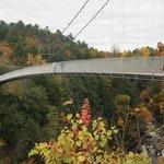 World's longest Suspended walking bridge - per guiness world records.