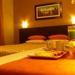 Contamos con  acogedoras habitaciones en las cuales usted podrá disfrutar del mejor confort.