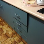 Kitchen draws did not close very stiff