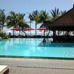Main Pool with pool bar