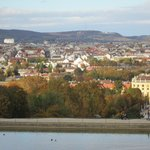 Vista dos jardins do Palácio de Schonbrunn