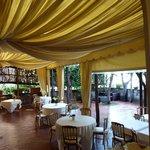 The restaurant, Terrazza Marziale