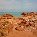 Roebuck Bay and dinosaur footprints