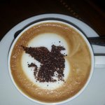 Sailendra Restaurant Cappuccino with J.W. Marriott Griffin