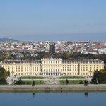 Schloss Schonbrunn from Gloriette