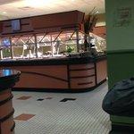 Nice Buffet area