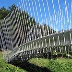 Sculptural bridge by Virginia King