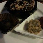 Haagen Dasz and Omochi dessert