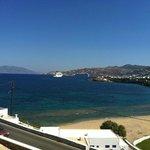 Megali Ammos from Grand Beach Hotel.