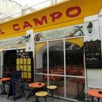L'ENTREE de EL CAMPO