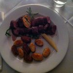 Wild boar fillet with home made gnocchi