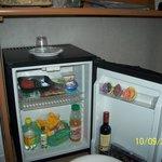 мини-холодильник в номере