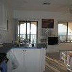 Kitchen & view to Balcony