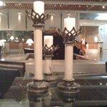 Le lobby et sa décoration