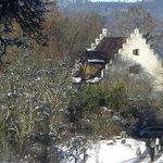 View when approaching Burghof Wallhausen